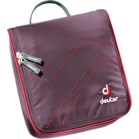 Deuter Wash Center II aubergine/fire